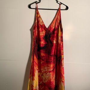Sensara Nightgown Long spaghetti strap nightgown